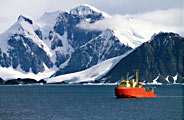 Antarctic research cruise
